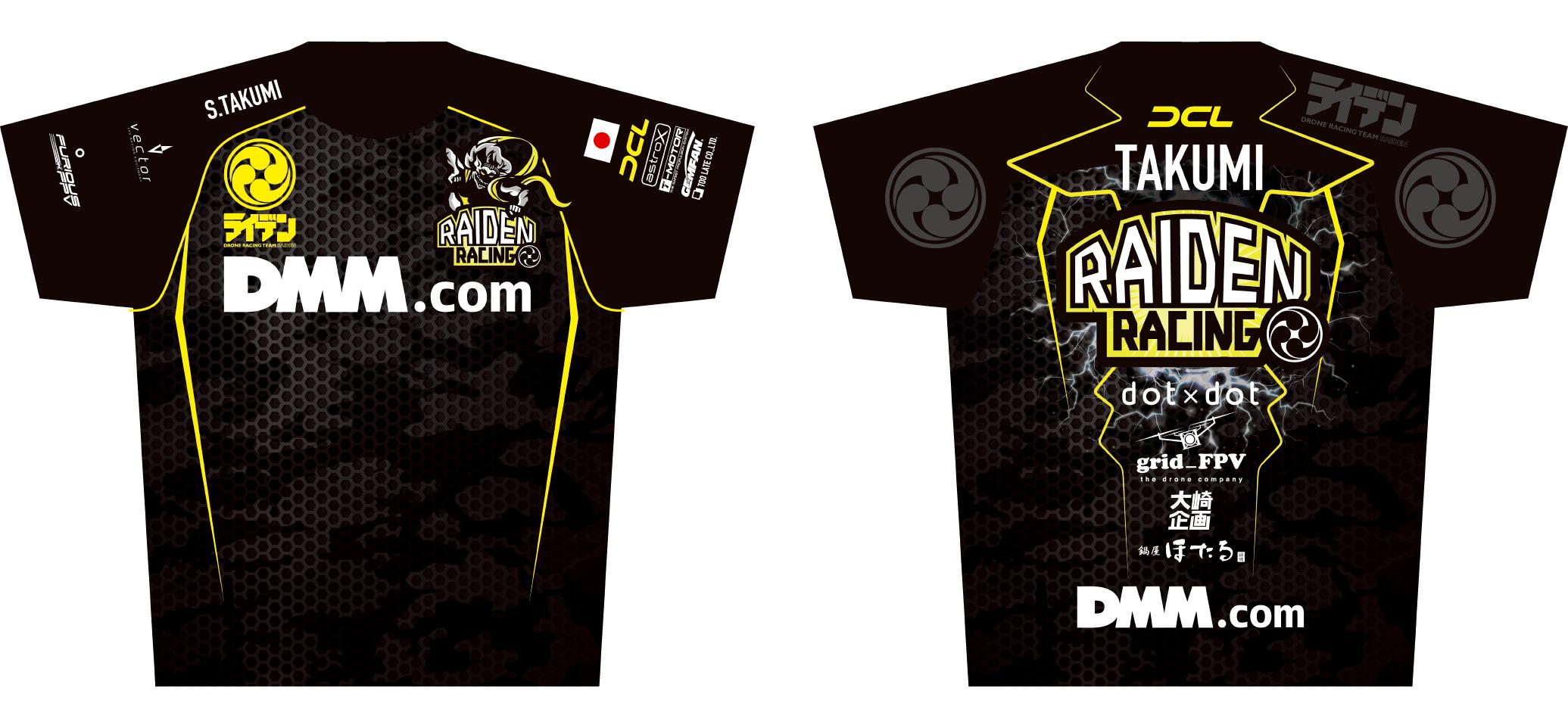 合同会社DMM.comとオフィシャルスポンサー契約締結、『DMM RAIDEN RACING』として始動開始!
